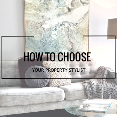 What are the essential qualities that make you a good property stylist?